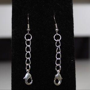 Short Chain Dangle Earrings